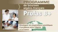 Programme algéro-français de bourses en doctorat PROFAS B+