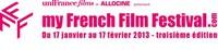 3ème édition de MyFrenchFilmFestival du 17 janvier au 17 février 2013