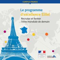 Programme d'excellence Eiffel - Résultats 2016
