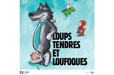 """Ciné jeune public """"LOUPS TENDRES ET LOUFOQUES"""" - Entrée libre"""