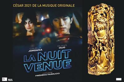 """Cinéma """"La nuit venue"""" - César 2021 de la musique originale - Sur réservation"""