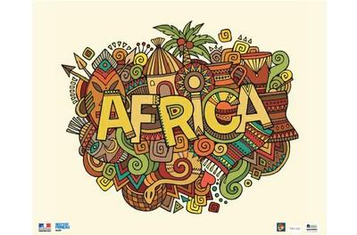 installation AFRIQUE EN CREA-ACTION Dans le cadre de la nuit des idées