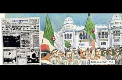 """Conférence mercredi 10 octobre à 17h00 """"L'Algérie de Jacques Ferrandez"""""""