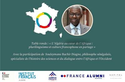 L'Algérie au cœur de l'Afrique : plurilinguisme et culture francophone en partage