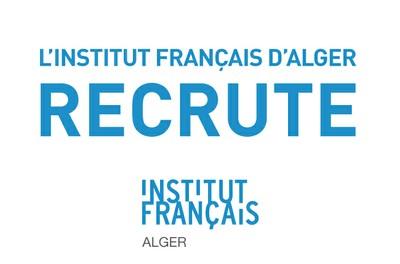 L'institut français d'Alger recrute un agent d'accueil au Département de langue française