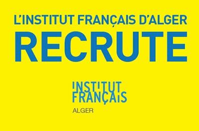 L'institut français d'Alger recrute un agent d'exécution