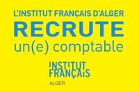 L'institut français d'Alger recrute un (e) comptable