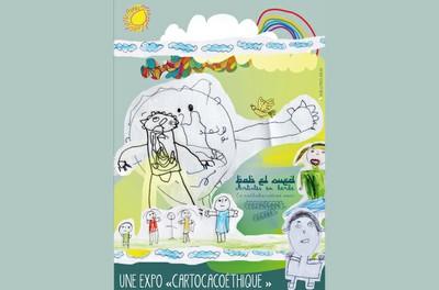 """""""CARTOCACOETHES"""" Princesse Zazou et enfants de Maillot, dans le cadre de la coopération avec l'Hôpital Maillot - Registre particulier"""