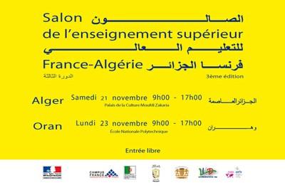 Salon de l'enseignement supérieur France-Algérie 2015 - 3ème édition