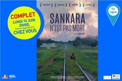 """Séance de cinéma virtuelle """"Sankara n'est pas mort"""" lundi 15 juin 20h 00 chez vous - COMPLET"""
