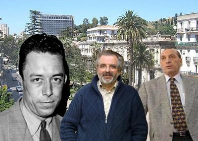 Alain Ferry, Albert Camus & Aziz Zerari, 3 hommes, un même espace