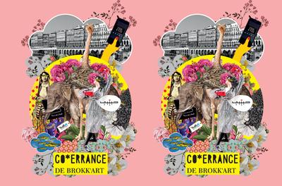 «CO ERRANCE» de BOKK'ART / vernissage : jeudi 6 février à 17h30