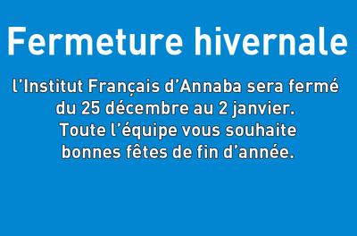 Fermeture de l'Institut Français d'Annaba