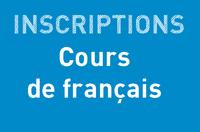 Inscription : COURS DE FRANÇAIS