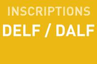 Inscription : DELF / DALF