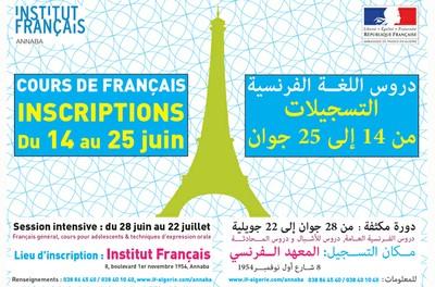 Inscriptions - Cours de français -.