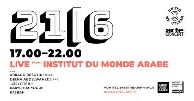 United We Stream France #12   Live à L'Institut du Monde Arabe