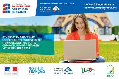 2eme édition du salon en ligne des études en France