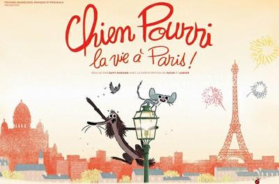 Ciné-famille : Chien Pourri, la vie à Paris !