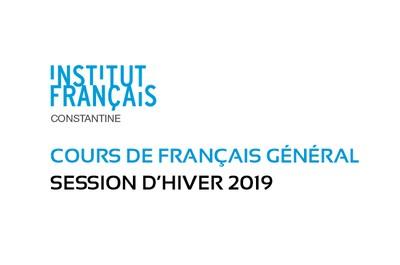 Cours de français général : Session hiver 2019