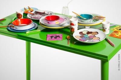 TABLEAUX - TABLES :  Les arts de la table, design et savoir-faire traditionnel
