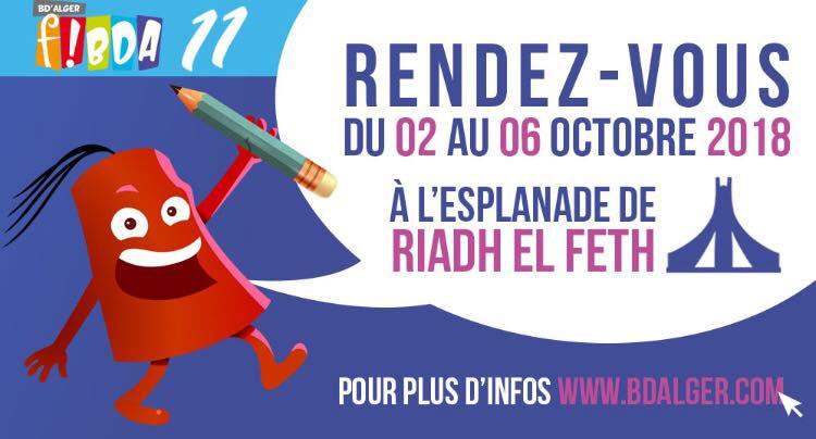 L'institut français d'Algérie présent  au FIBDA 2018