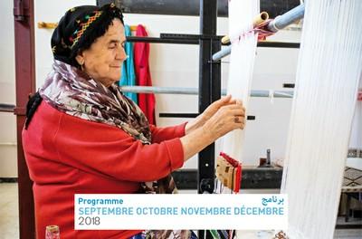 Programme Septembre Octobre Novembre Décembre 2018
