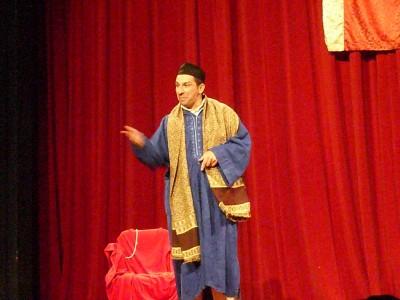 Atelier théâtre avec Kamel Zouaoui