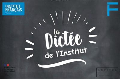 La grande dictée de l'Institut français