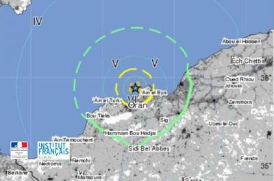les fonds sous-marins au large des côtes algérienne: reliefs, sismicité et risque gravitaire
