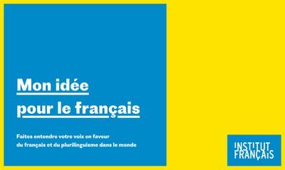 Mon idée pour le français